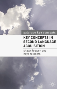 Key Concepts in Second Language Acquisition, PDF eBook