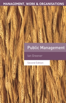 Public Management, Paperback / softback Book