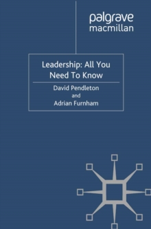 Leadership: All You Need To Know, PDF eBook