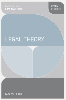 Legal Theory, Paperback / softback Book