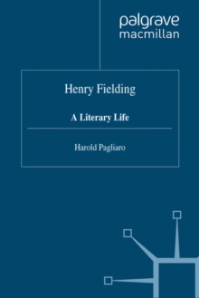 Henry Fielding : A Literary Life, PDF eBook