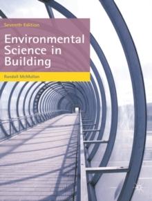 Environmental Science In Building Randall Mcmullan 9780230390355