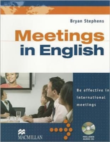 Meetings in English with  Audio CD, Mixed media product Book