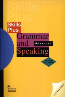 Skills Plus Grammar and Speaking Advanced : Advanced, PDF eBook
