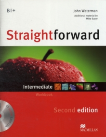 Straightforward 2nd Edition Intermediate Level Workbook without key & CD, Mixed media product Book