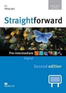 Straightforward 2nd Edition Pre-Intermediate Level Digital DVD Rom Multiple User, DVD-ROM Book