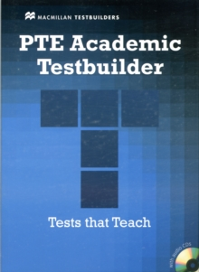 PTE Academic Testbuilder Student Book with Audio CDs, Mixed media product Book