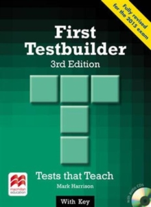 First Testbuilder 3rd edition Student's Book with key Pack, Mixed media product Book