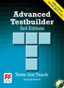 Advanced Testbuilder 3rd Edition Student's Book Without Key Pack, Mixed media product Book