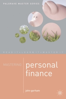 Mastering Personal Finance, Paperback / softback Book