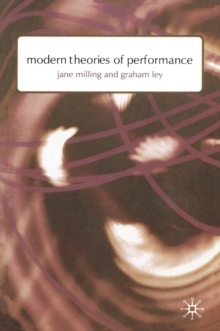 Modern Theories of Performance : From Stanislavski to Boal, EPUB eBook