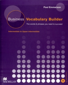 Business Vocabulary Builder Intermediate Students Book & CD Pack, Mixed media product Book