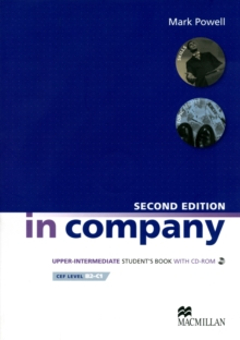 In Company Upper Intermediate Student Book + CDR Pack, Mixed media product Book