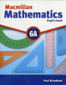 Macmillan Mathematics 6 Pupils Book A with CD-ROM, Mixed media product Book