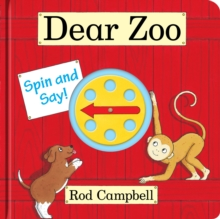 Dear Zoo Spin and Say, Board book Book