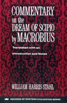 Commentary on the Dream of Scipio, Paperback / softback Book