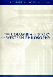 The Columbia History of Western Philosophy, Paperback Book