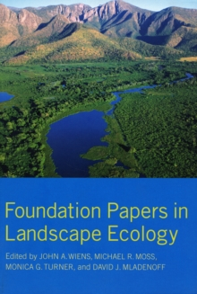 Foundation Papers in Landscape Ecology, Paperback Book