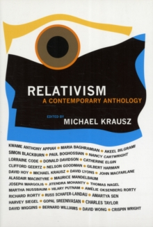 Relativism : A Contemporary Anthology, Paperback / softback Book