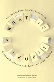What Is a People?, Hardback Book
