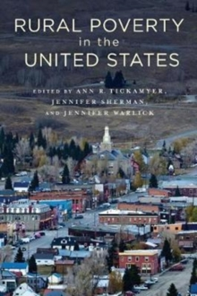 Rural Poverty in the United States, Paperback / softback Book