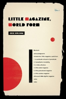 Little Magazine, World Form, Hardback Book