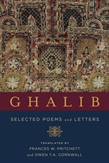 Ghalib : Selected Poems and Letters, Paperback / softback Book