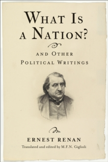 What Is a Nation? and Other Political Writings, EPUB eBook