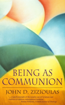 Being as Communion, Paperback / softback Book