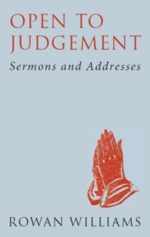Open to Judgement (new edition) : Sermons and Addresses, Paperback Book