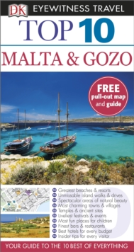 Top 10 Malta and Gozo, Paperback / softback Book