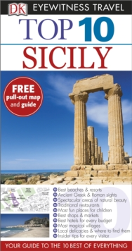 Top 10 Sicily, Paperback Book