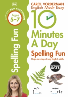10 Minutes a Day Spelling Fun, Paperback Book