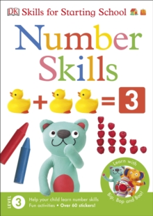Skills For Starting School Number Skills, Paperback Book