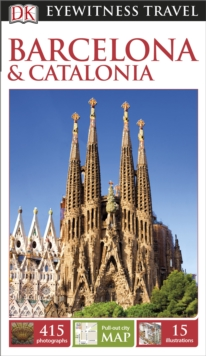 DK Eyewitness Travel Guide Barcelona and Catalonia, Paperback Book