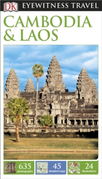 DK Eyewitness Travel Guide Cambodia and Laos, Paperback Book