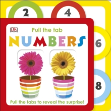 Pull the Tab Numbers, Board book Book