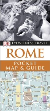 Rome Pocket Map and Guide, Paperback Book