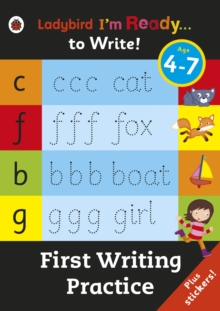 First Writing Practice: Ladybird I'm Ready to Write Sticker Activity Book, Paperback Book