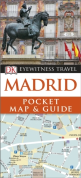 Madrid Pocket Map and Guide, Paperback Book
