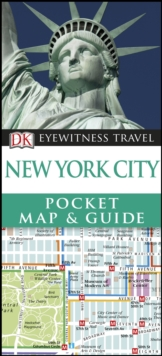 New York City Pocket Map and Guide, Paperback Book