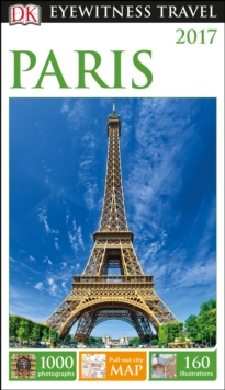 DK Eyewitness Travel Guide Paris, Paperback Book