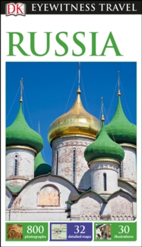 DK Eyewitness Travel Guide Russia, Paperback Book