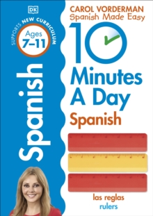 10 Minutes a Day Spanish, Paperback Book