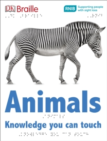 DK Braille Animals, Hardback Book