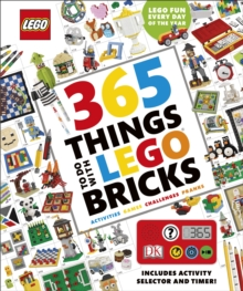 365 Things to Do with LEGO (R) Bricks : With activity selector and timer, Mixed media product Book