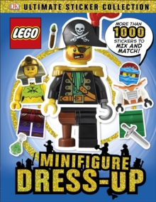 LEGO Minifigure Dress-Up Ultimate Sticker Collection, Paperback / softback Book