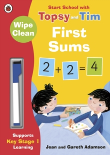 Wipe-Clean First Sums: Start School with Topsy and Tim, Paperback / softback Book