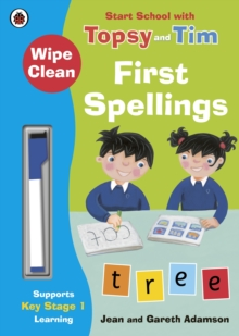 Wipe-Clean First Spellings: Start School with Topsy and Tim, Paperback / softback Book