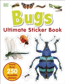Bugs Ultimate Sticker Book, Paperback Book